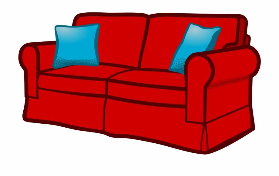sofa clipart furniture