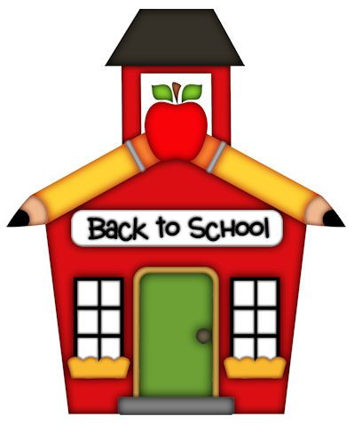 Clipart of school house clipartfest