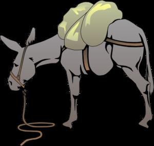 clipart pack mule
