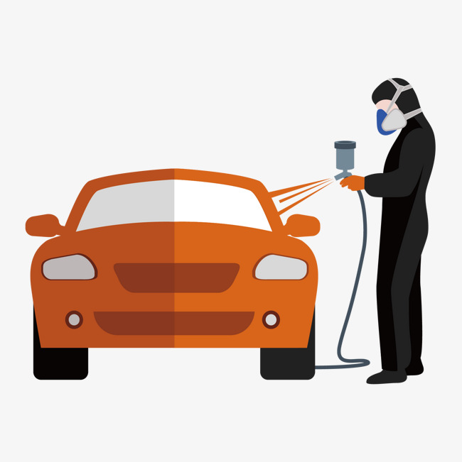 Cars clipart painting.