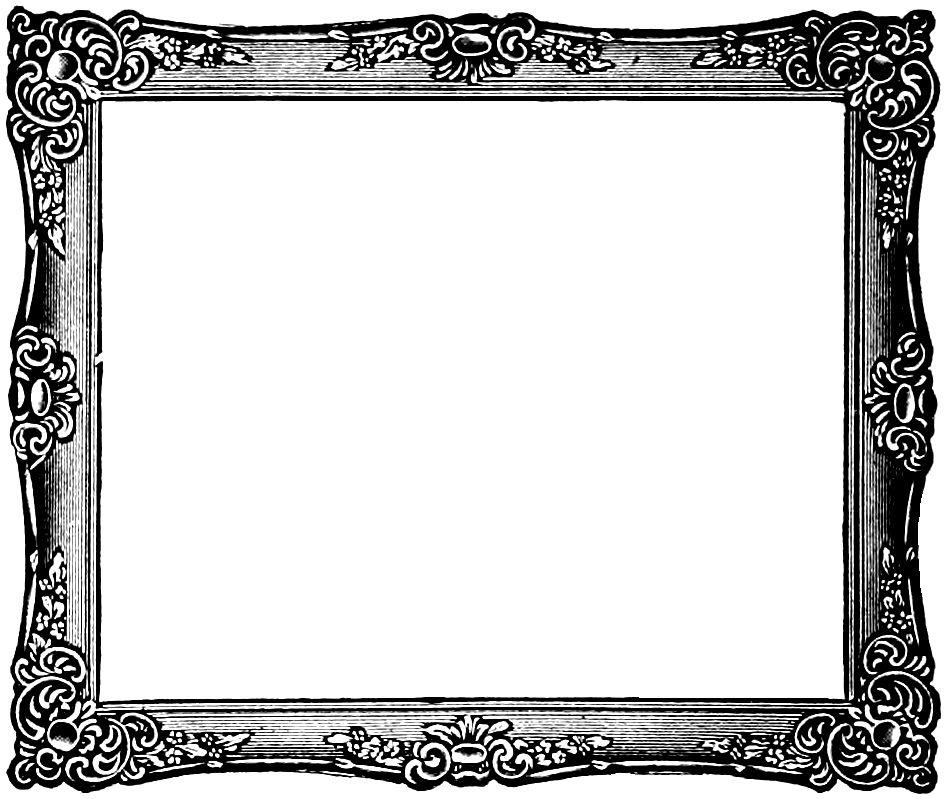 Free vintage frame.