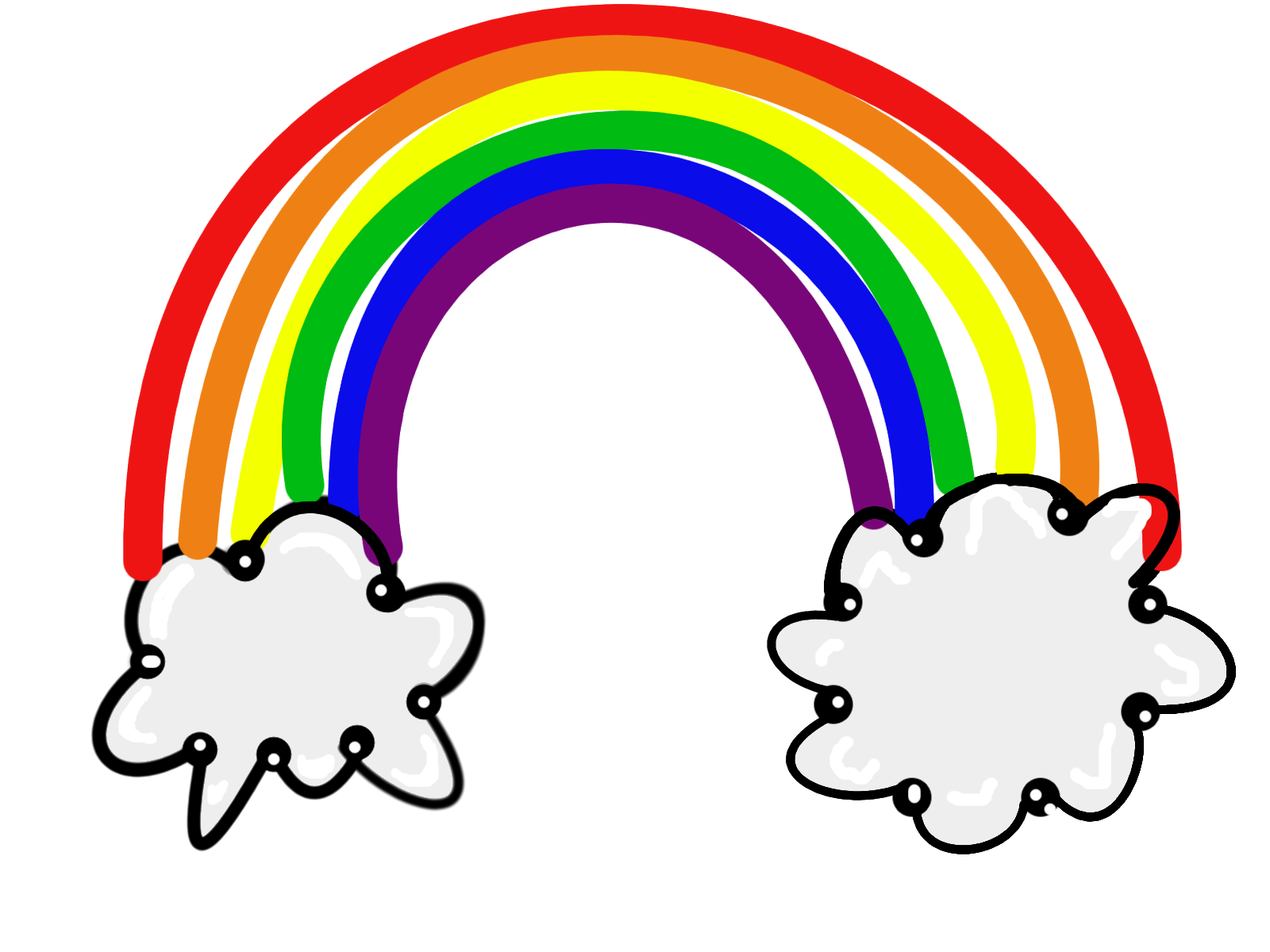 Free color rainbow.