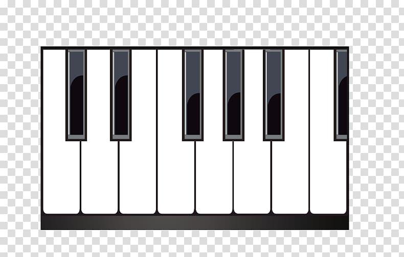 Musical keyboard piano.
