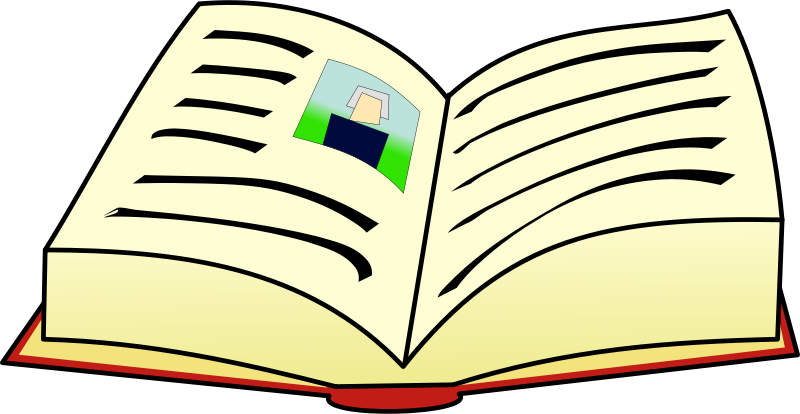 Free clipart book.