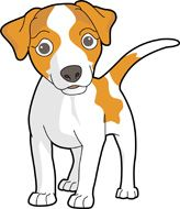 Dog clipart and.