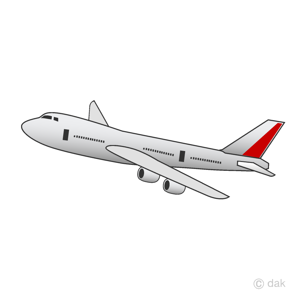 Airplane flying clipart.
