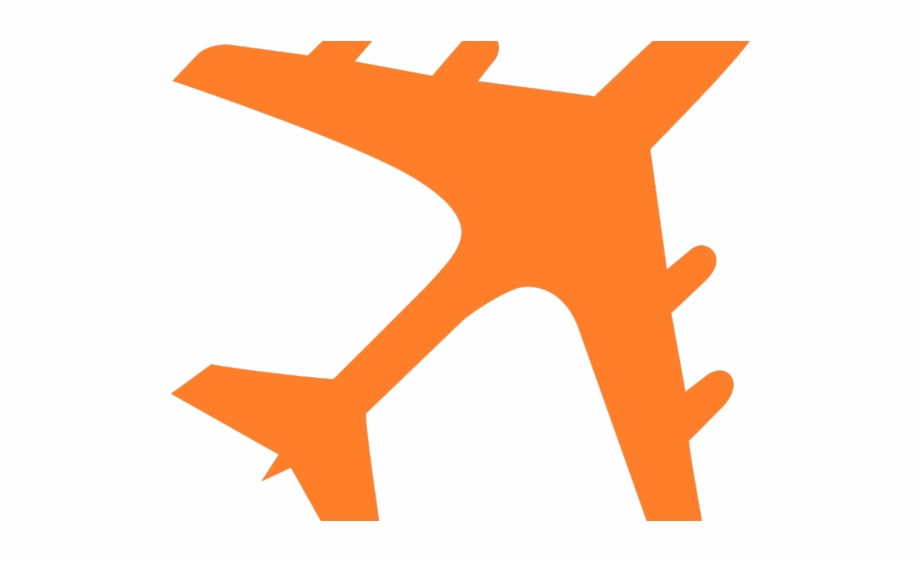 Airplane clipart gold.