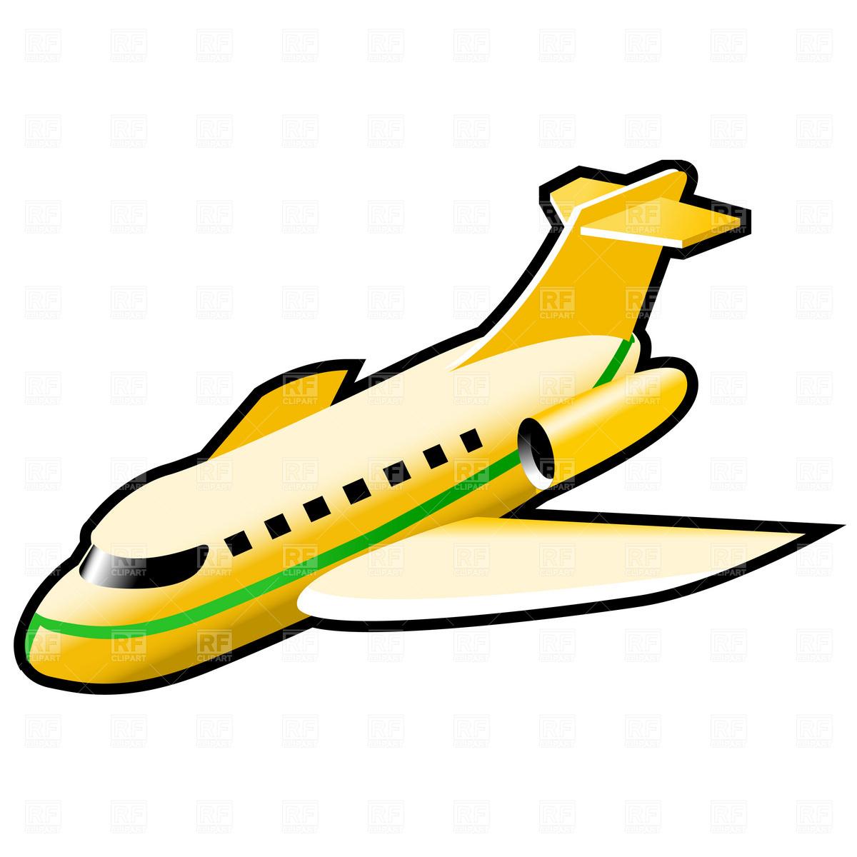 Plane gold clip.