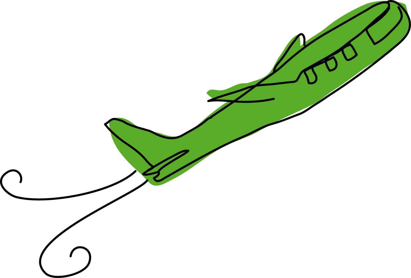 Free animated airplane.