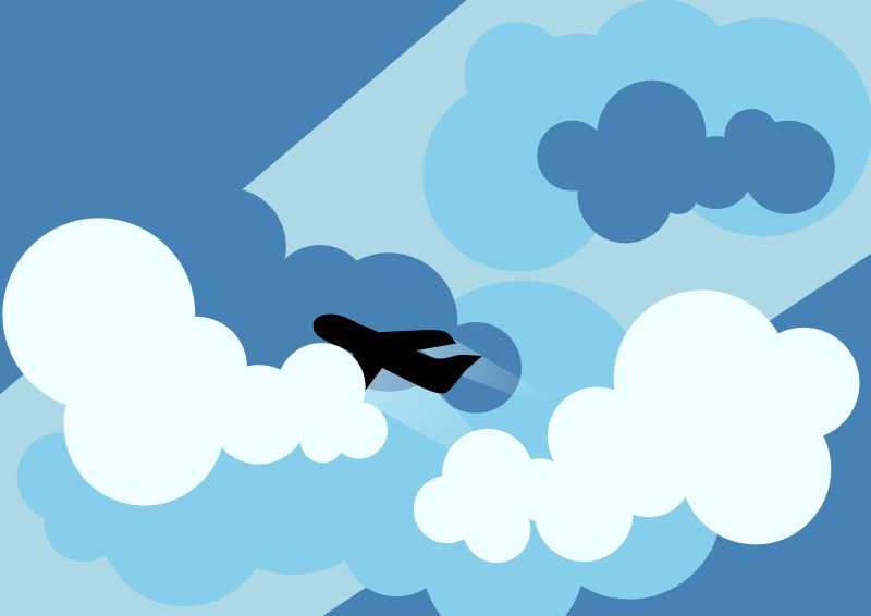 Free clipart plane.