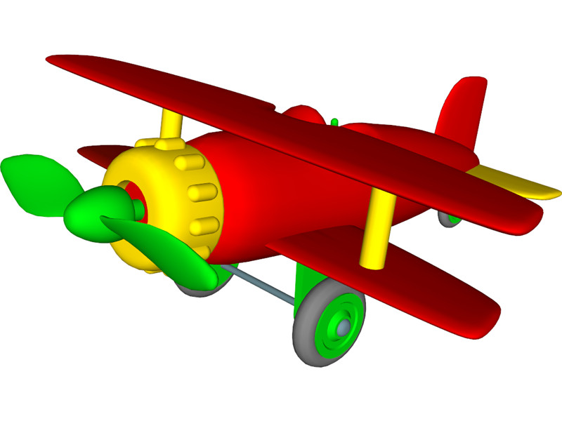 Free toy plane.