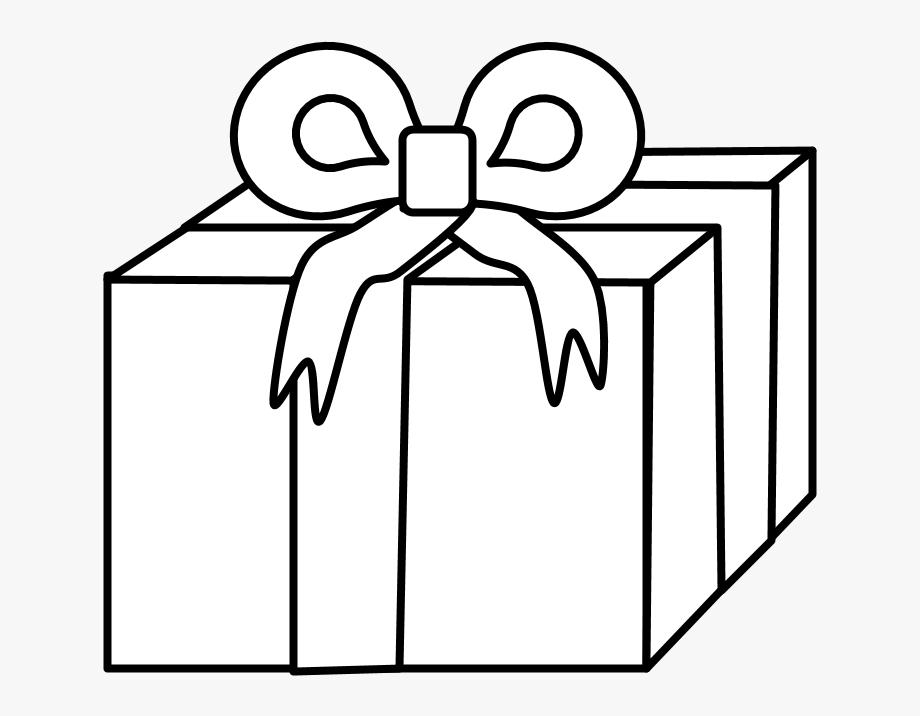 Gift, Ribbon, Hanukkah, Black And White,