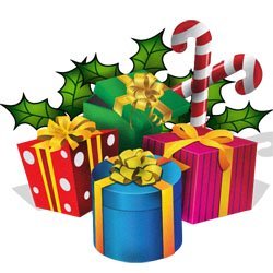 Clipart christmas presents.