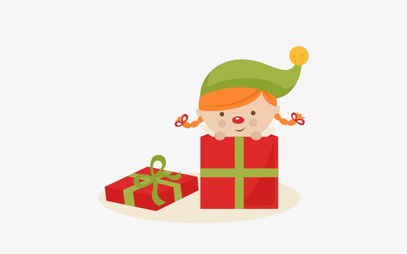 Girl elf present.