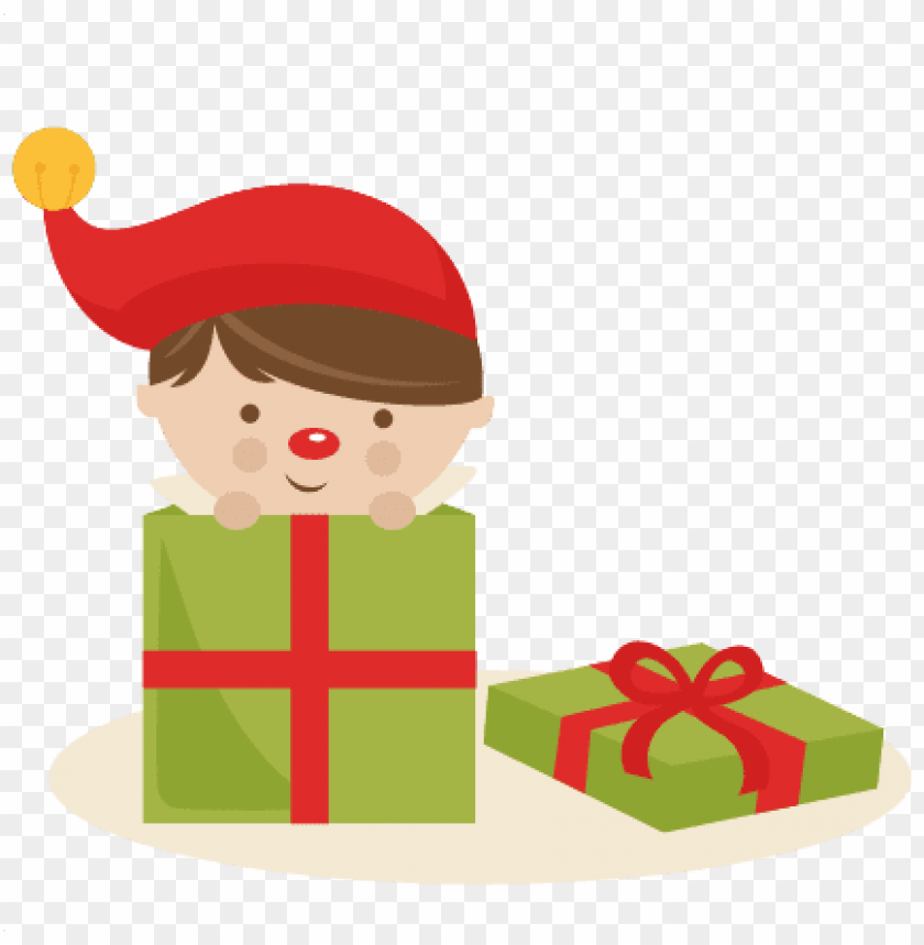 Boy elf present.