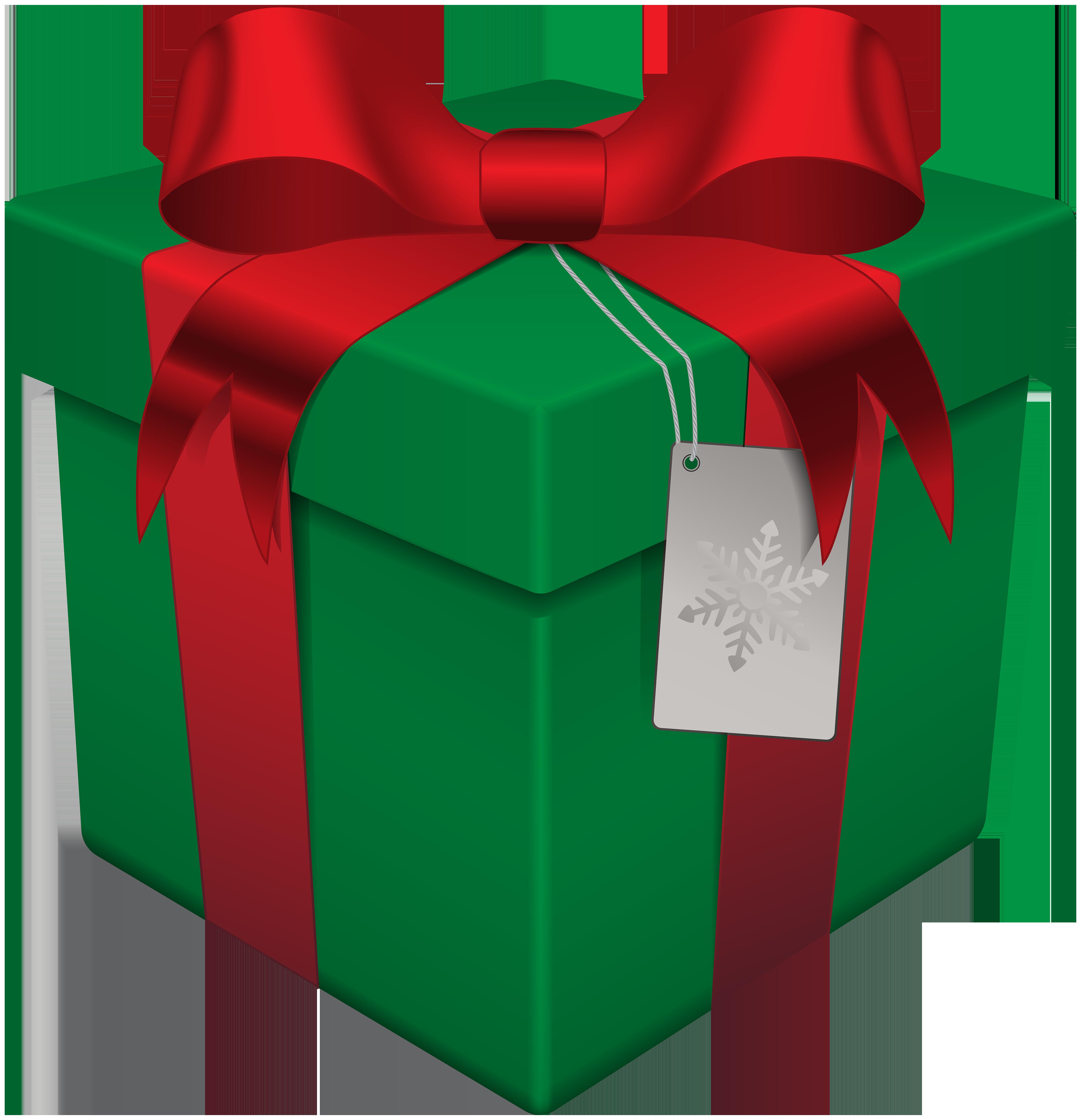 Gift christmas box.