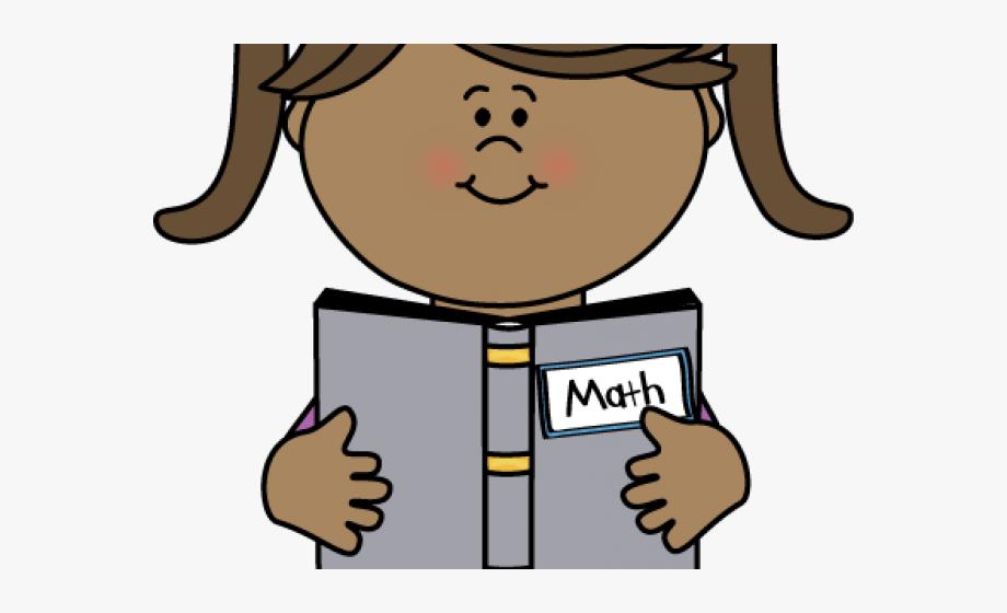 Girl reading book.