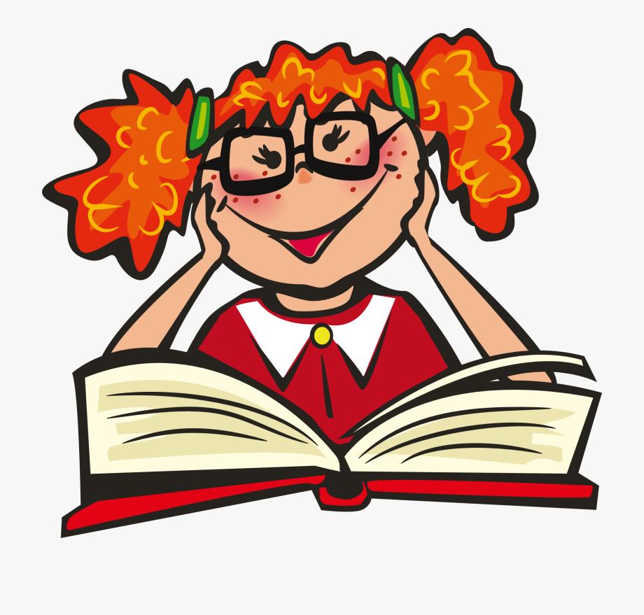 Volunteer read books.