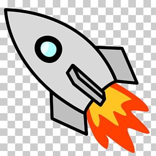 Moon rocket png.
