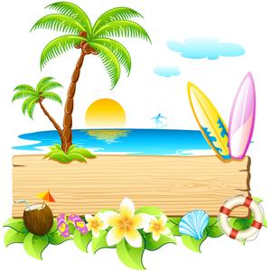 Free Summer Clipart Cartoons