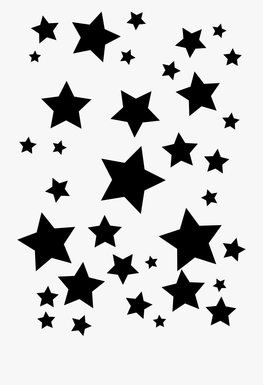 Royalty Free Library Cluster Of Stars Clipart Collection