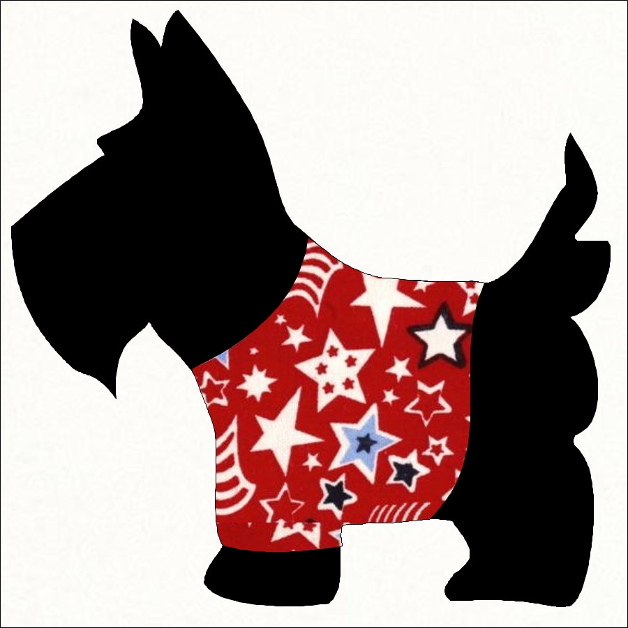 Free scottie dog cliparts.