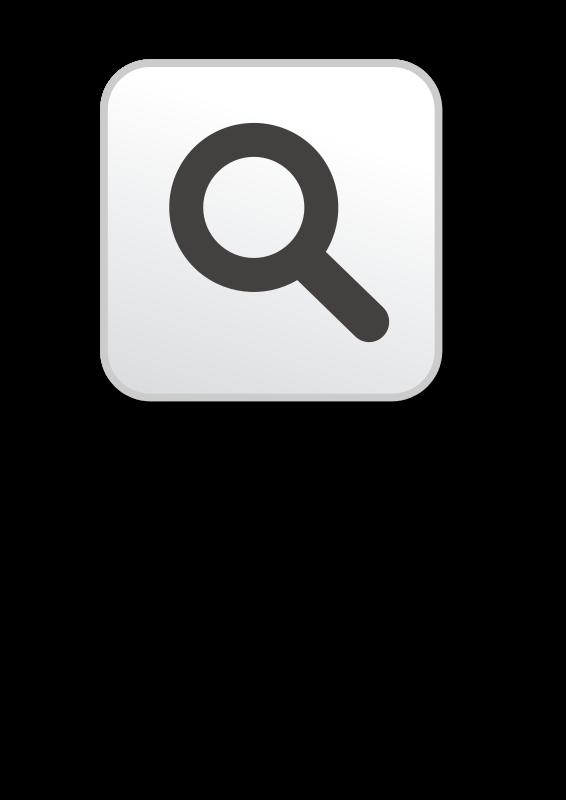 clipart search button