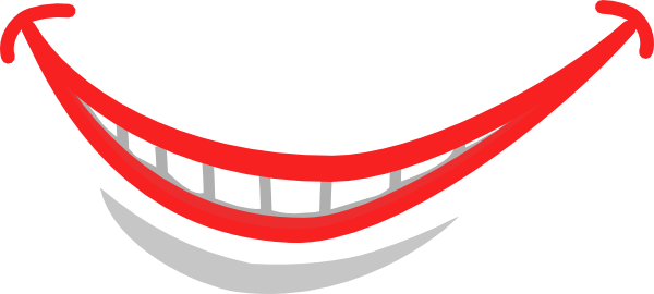 Free smile cliparts.