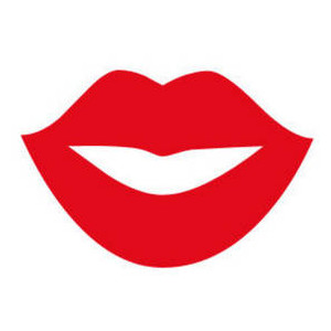Smile lips clipart.