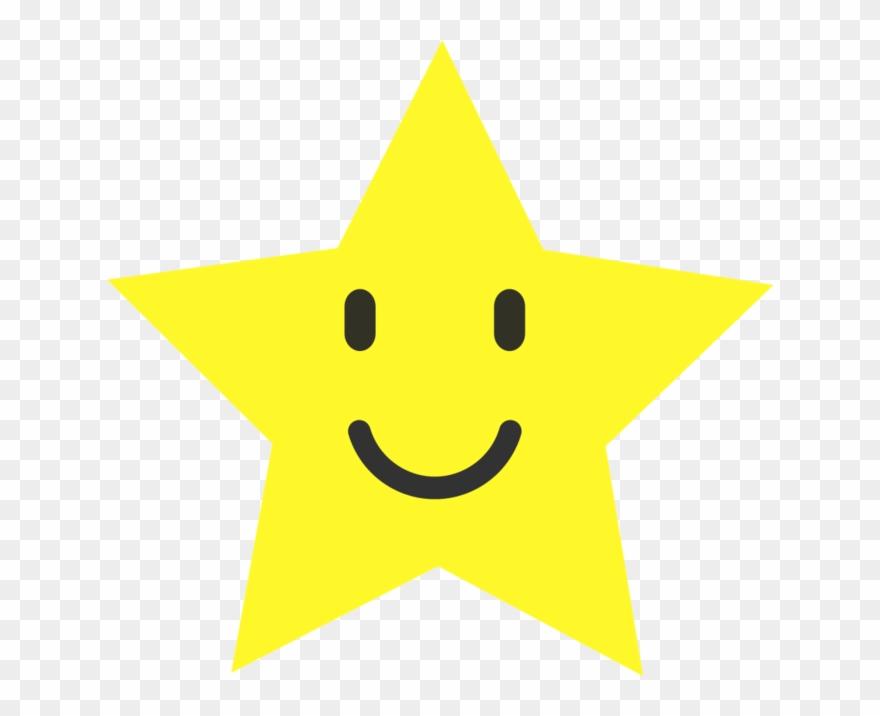 Smiley star clip.