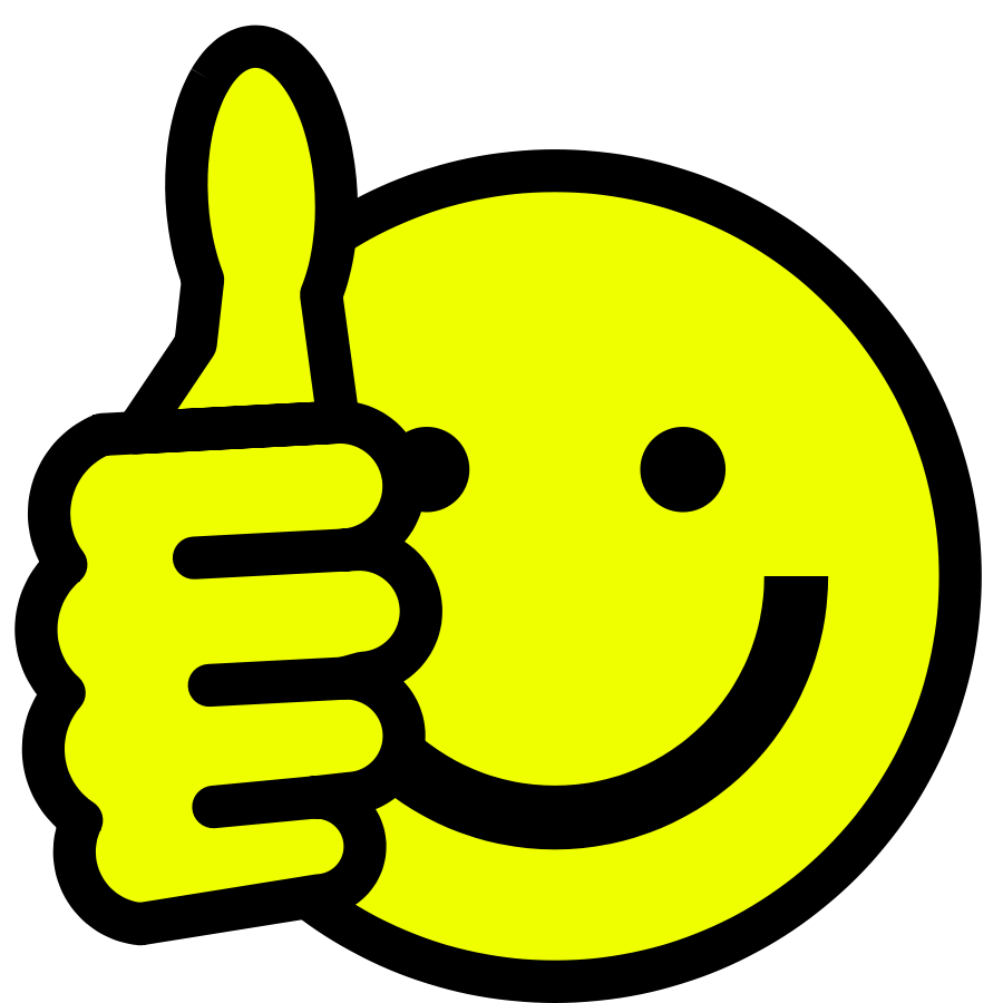 freeware clipart thumbs up
