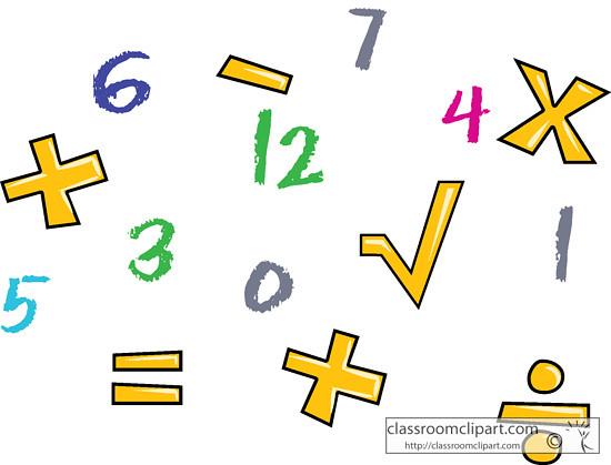 Math Number and Symbols