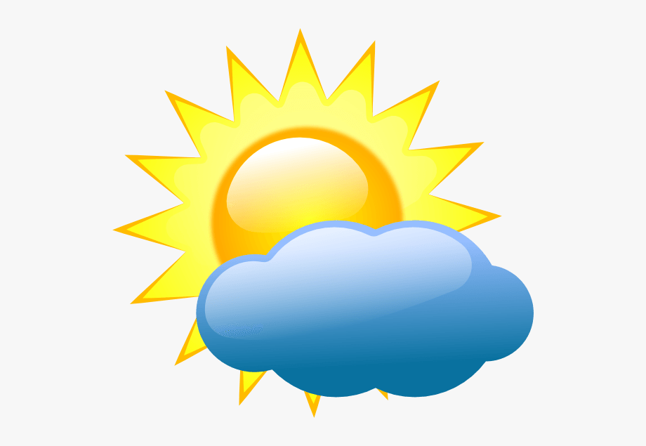 Cartoon weather clipart.