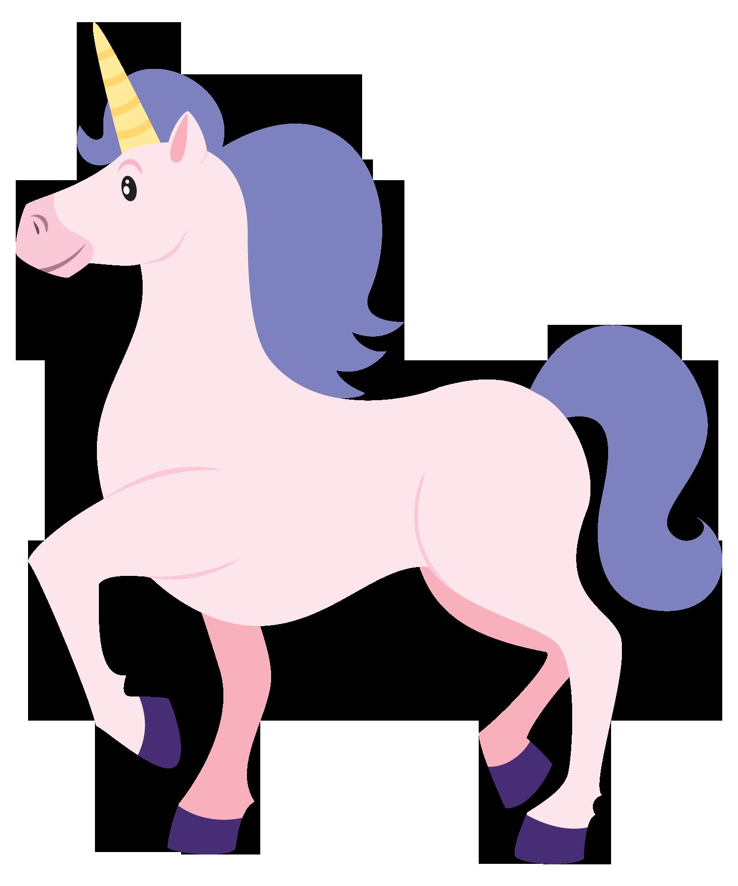 Clip art unicorn.