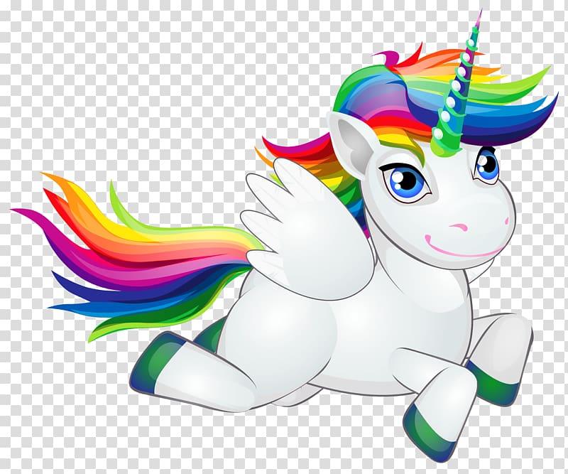 Pony horse rainbow.