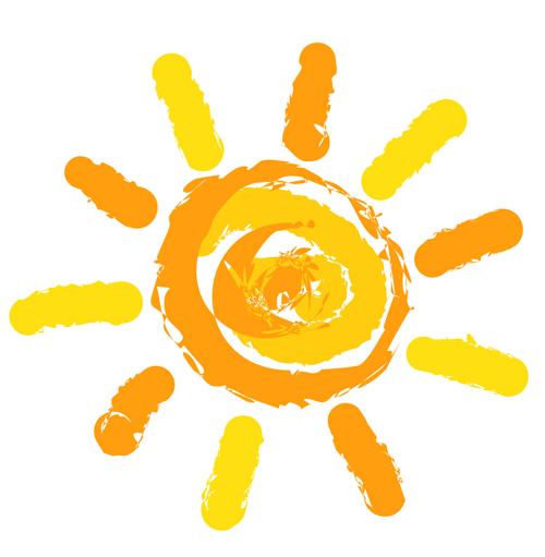 Free sun vector.