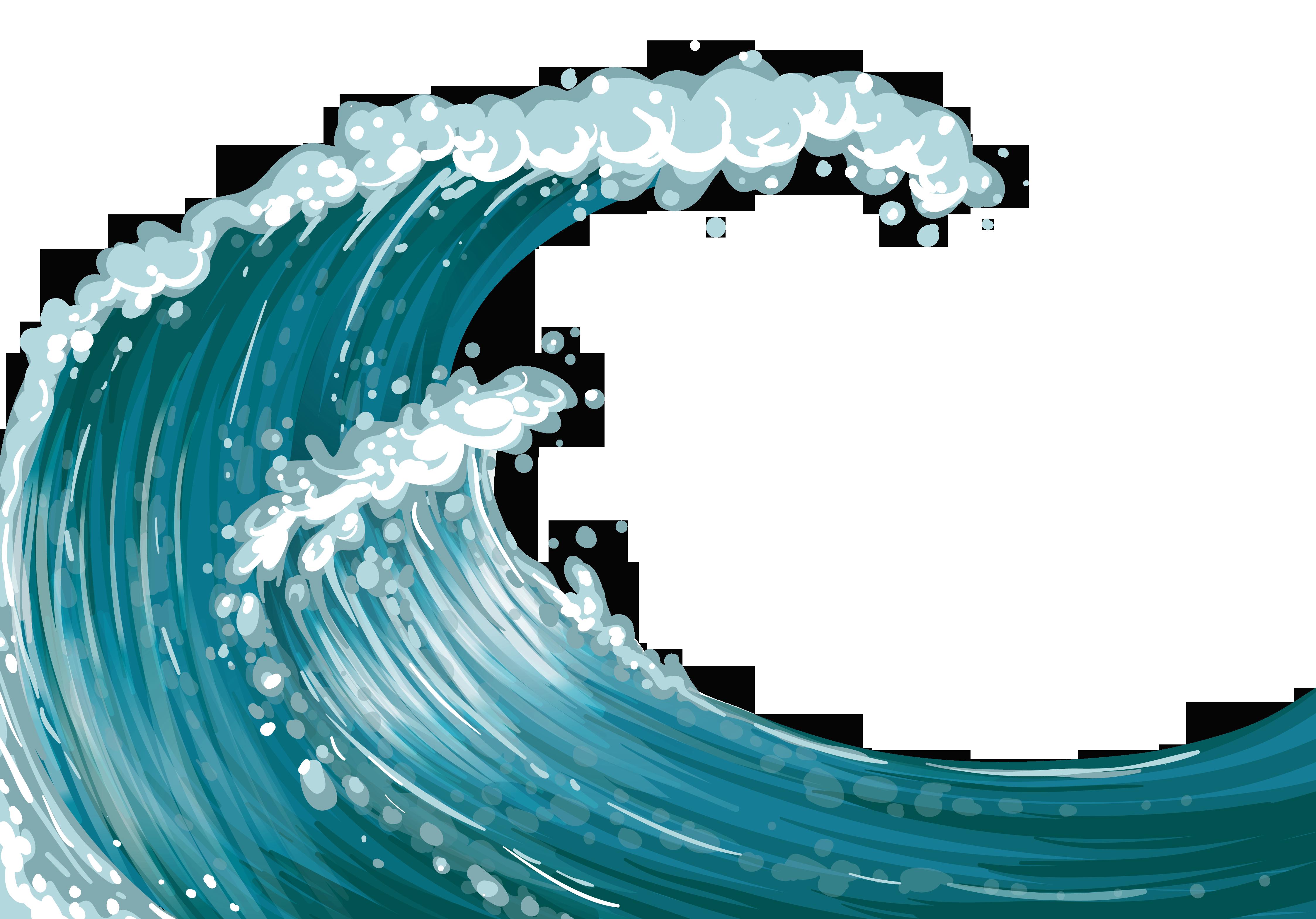 Sea Wind wave Clip art