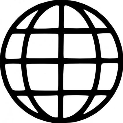 Web symbol clip art.