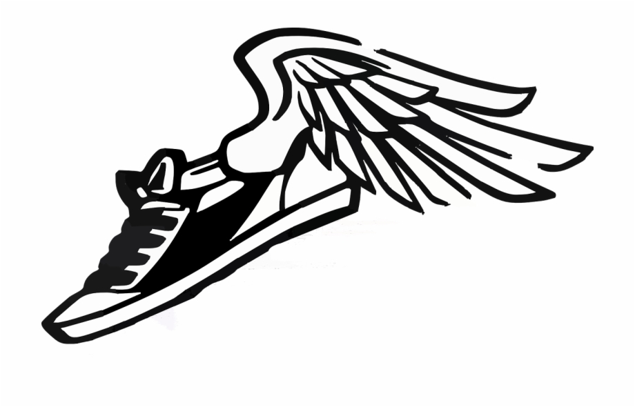 Wings clipart track.