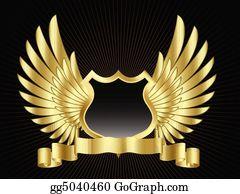 Shield wings clip.