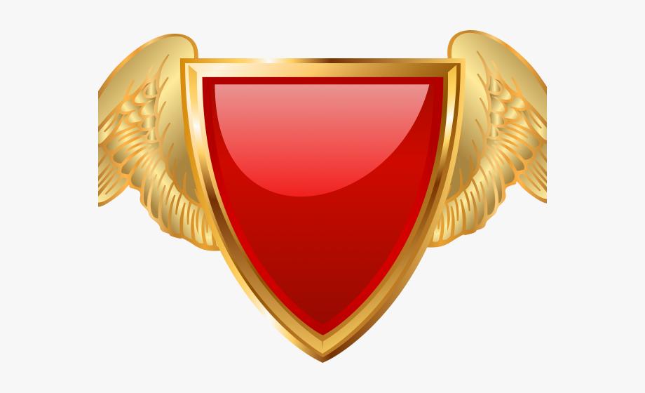 Drawn shield wing.