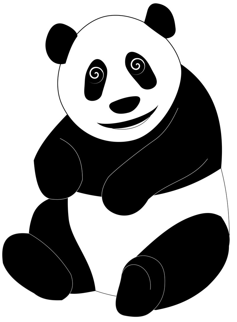 Cartoon Panda by ilkerb on Clipart library