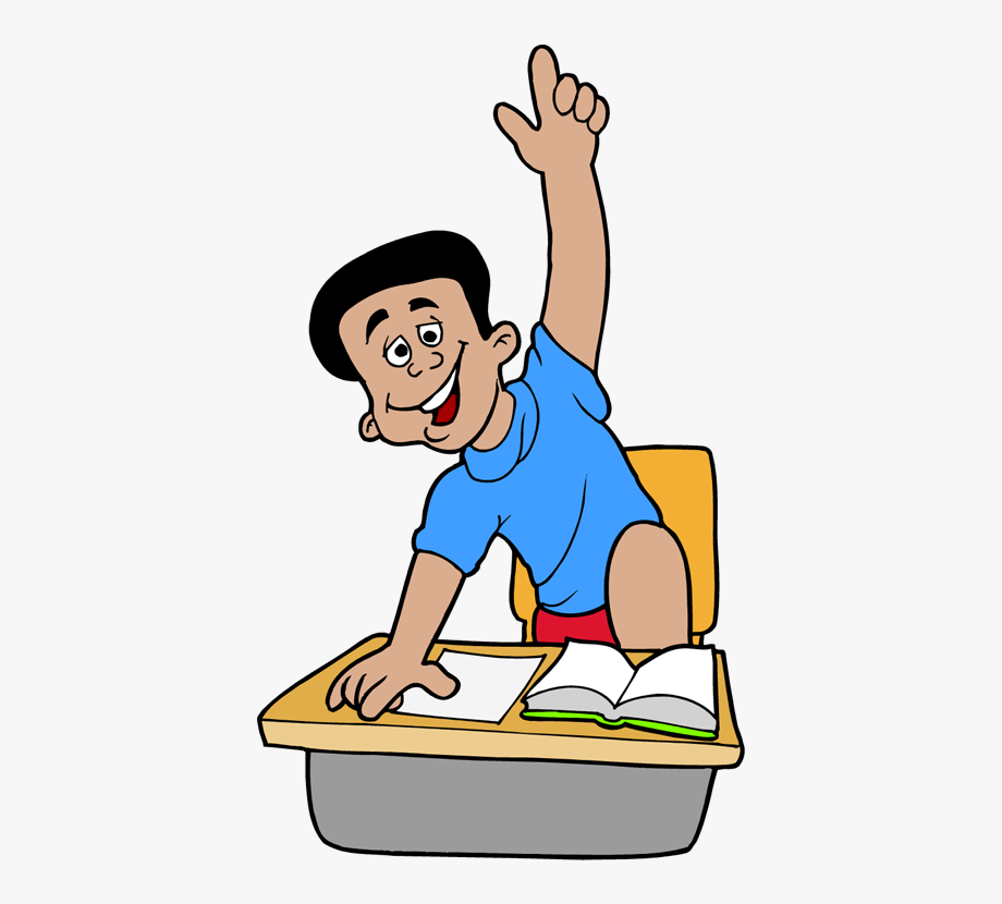 Cartoon Schule