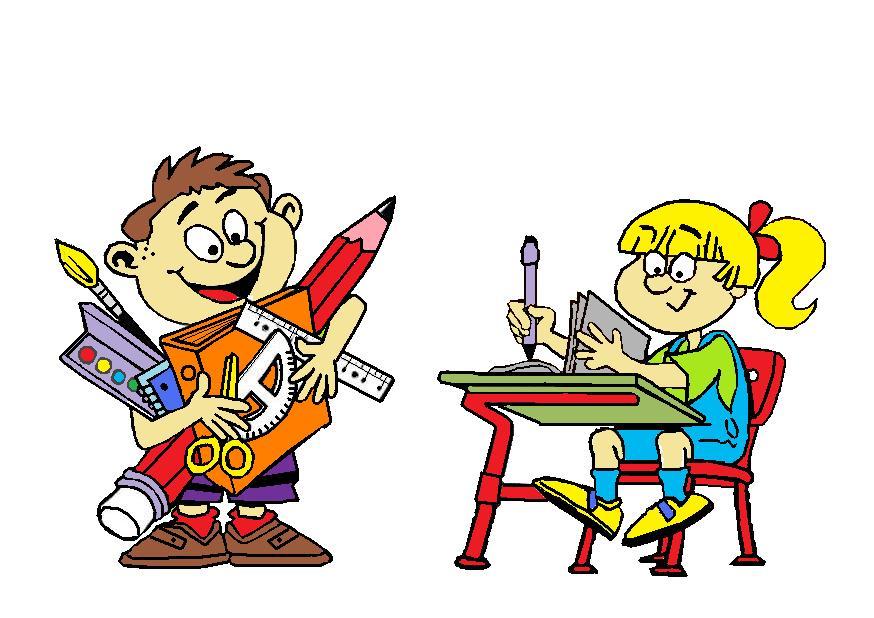 cliparts schule cartoon