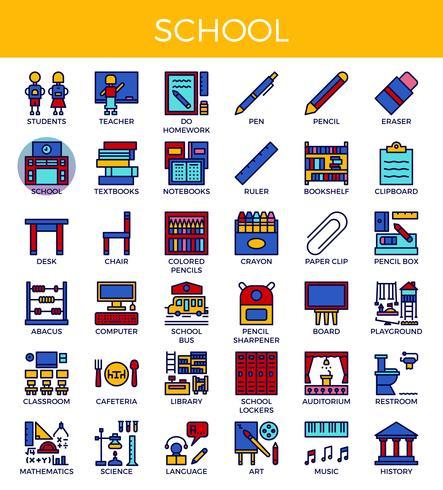 Symbole fr schule.