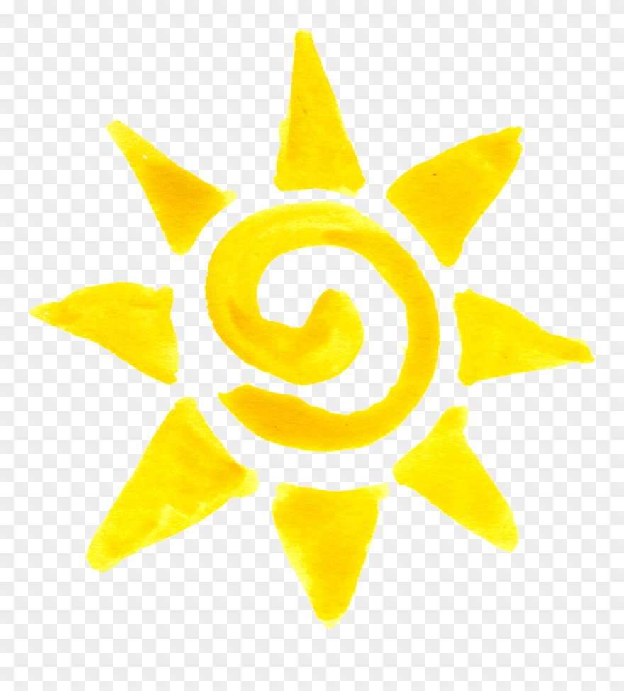 Spiral sun png.