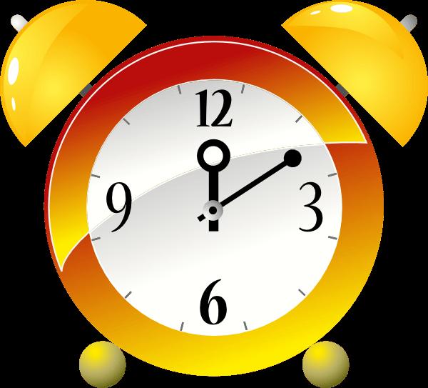 Animated clock cliparts.