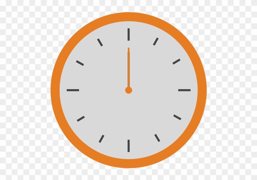 Clock running clock.
