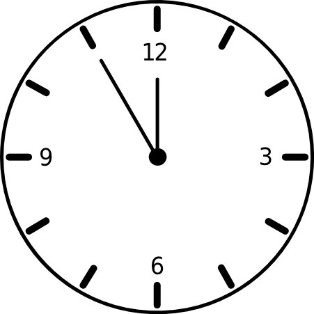 Free animated clock.