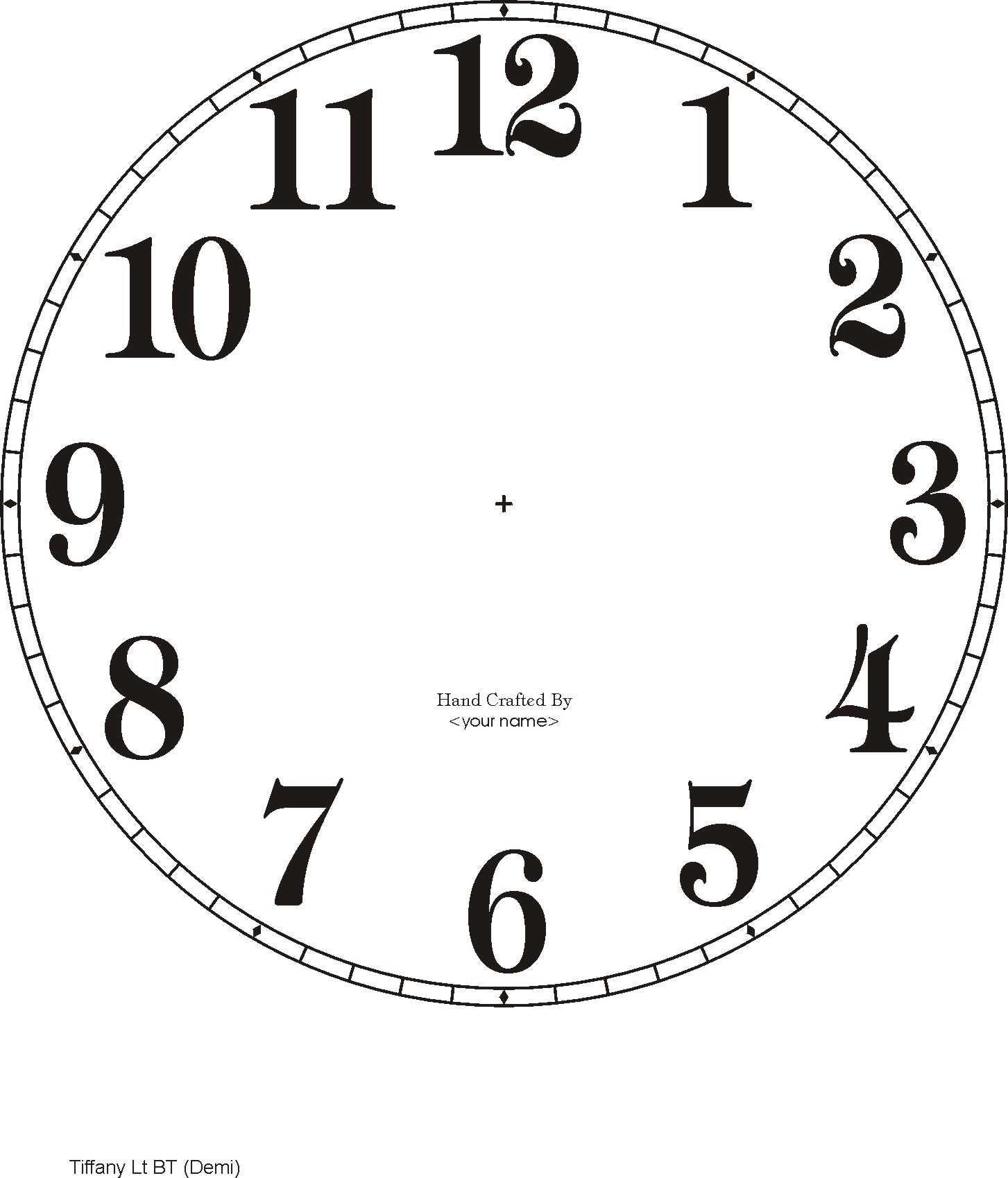 Downloadable clock faces.